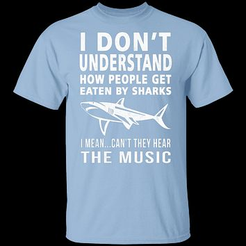 Shark Attack Music T-Shirt