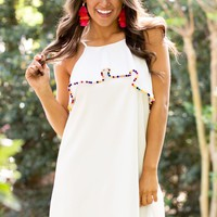 Day To Night Dress in White | Monday Dress