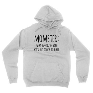 Momster what happens to mom after she counts hoodie