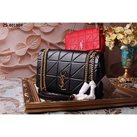 Yves Saint Laurent YSL Women Leather Monogram Tote Handbag Shoulder Bag Shopping Bag Messenger Bags Wallet Purses 2019   New Fashion Bags