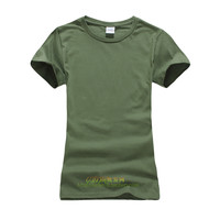 Basic T Shirt Women Summer Short Sleeve O-Neck Cotton All-Match Tees Tops Female Color Solid Casual T-Shirts