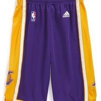 Boy's adidas 'Swingman Road - Los Angeles Lakers' Shorts,