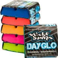 STICKY BUMPS DAY-GLO WAX COOL/COLD 6 PACK