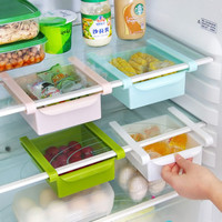 Home Fridge Space Saver Organizer Storage Rack Shelf Holder Tool Slide New