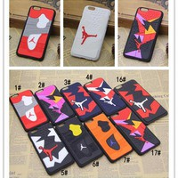 For Iphone 6 Phone Case 3D Jordan Sport Basketball Phone Back Cover Case for Iphone 6