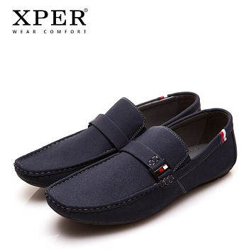 Men Shoes Fashion NEW Men Loafers Summer Cool Autumn Winter Men's Flats Shoes Man Casual Footwear Sapatos Tenis Masculino XPER