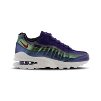 Nike Big Kid's Air Max 95 SE GS Purple Pink Green