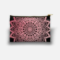 Pink Night Mandala Studio Pouch