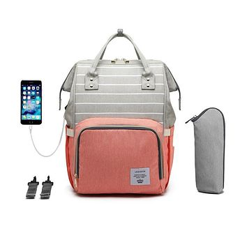 Large Capacity High Quality Diaper Bag and Backpack