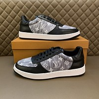 LV Louis Vuitton2021 Men Fashion Boots fashionable Casual leather Breathable Sneakers Running Shoes0602yph