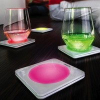 Lumiware Color Changing Coasters