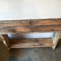 Primitive Entryway Table, Rustic Entryway Table, Primitive Handmade Table, Rustic Handmade Table, Handcrafted Entryway Table