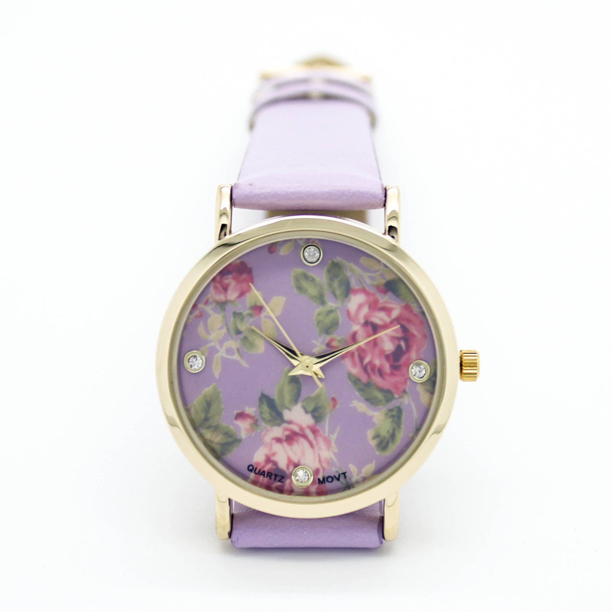 Image of Flower strap watch (4 colors)