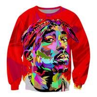 Tupac Shakur Graphic Sweatshirt
