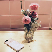Girly iPhone 6s & 6s Plus Case (White Romantic Lace Pattern) by Casetify