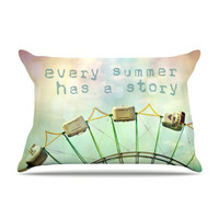 """Sylvia Cook """"Every Summer Has a Story"""" Pillow Sham"""