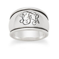 Tapered Dome Signet Ring | James Avery