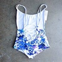 Khongboon Swimwear - Venosa Reversible One Piece Bathing Suit