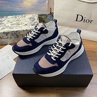 dior fashion men womens casual running sport shoes sneakers slipper sandals high heels shoes 388