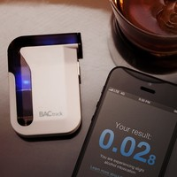 BACtrack iPhone Breathalyser at Firebox.com