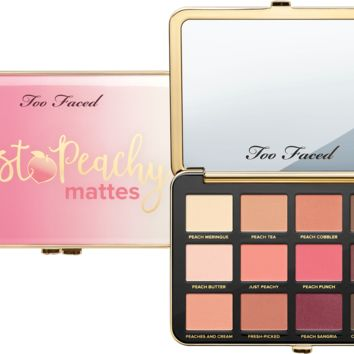 Just Peachy Mattes Eyeshadow Palette - Too Faced