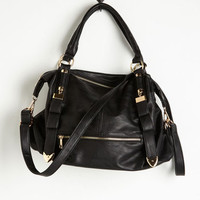 Every Day, Everywhere Bag in Black by ModCloth