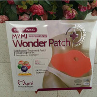 5 pieces Hot Korea Belly Wing Mymi Wonder Patch Abdomen Treatment Patch Weight Loss Fat Burning Slimming Body Stomach Patchs