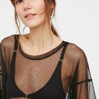 Free People The Coolest Sheer Tee