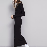 FITTED RIBBED DRESS - NEW PRODUCTS - WOMAN - PULL&BEAR United Kingdom