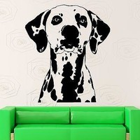 Wall Sticker Decal Dog Animal Pet Dalmatians Great Decor Unique Gift (ig2282)
