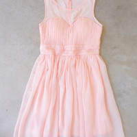 Pink Coast Party Dress [7080] - $52.00 : Feminine, Bohemian, & Vintage Inspired Clothing at Affordable Prices, deloom