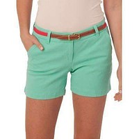"""Ladies Chino 5"""" Shorts in Bermuda Teal by Southern Tide"""