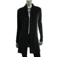 Quotation Womens Cashmere Solid Cardigan Sweater