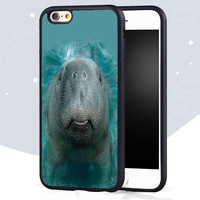 Manatee Printed Cell Phone Cases