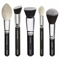 NEW ARRIVE ZOEVA 25 PCS EYES AND FACE COMPLETE & LUXURY SINGLE BRUSHES