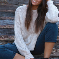 Honey Punch Blousant Sleeve Pullover Sweater at PacSun.com