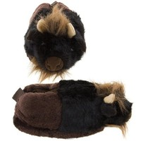 Buffalo Animal Slippers for Women and Kids