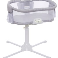 HALO Bassinest Swivel Sleeper Bassinet Infant Baby Crib Luxe Plus Gray Melange