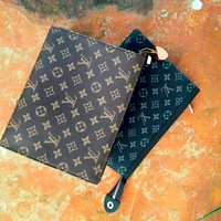 LV Men's and women's clutch bag large-capacity envelope bag