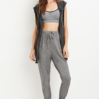 Marled Knit Athletic Sweatpants