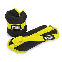 Pure Fitness 1 lb Adjustable Wrist Weights, Ankle Weights