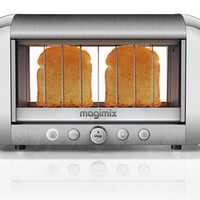 New Magimix by Robot Coupe Glass Vision See Through Clear Bread Bagel Toaster on eBay!
