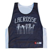 Lacrosse Vintage Lacrosse Sticks Pinnie