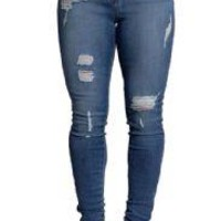 Stretch Slim High Waist Skinny Pencil Jeans