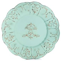 Antique Turquoise Metal Charger Wall Decor | Shop Hobby Lobby