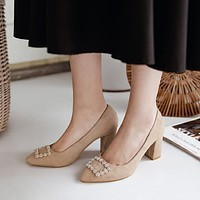 Pointed Toe High Heel Shallow Women Pumps Shoes