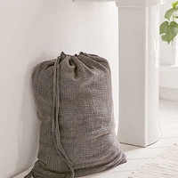 Crinkle Gauze Laundry Bag   Urban Outfitters