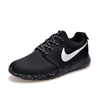 Nike Roshe run Best Seller Women's Running Shoes Athletic Shoes Fashion Sneakers Lace-up Black