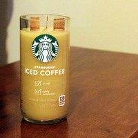 Beeswax Upcycled Starbucks Cup Candle