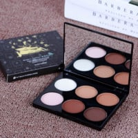 Professional Make Up Cosmetic 6 Colors Sweets Contour Blush